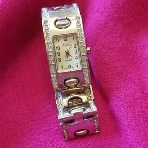 1980's stainless steel fashion watch